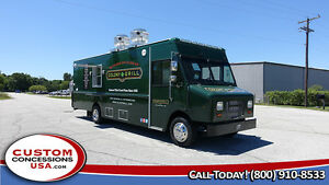 Custom Food Truck brand New Equipment food Catering Truck Call 888 418 8855
