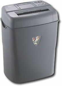 Init Nt ps10cc 10 sheet Crosscut Gray Personal Paper Shredder 4 7 Gal Cd Staples