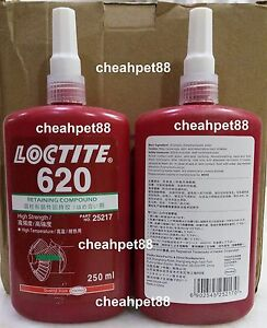 Loctite 620 Retaining Compound High Temperature 250ml Free Shipping Usa