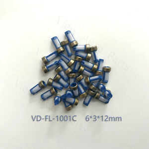 100pcs Blue Fuel Injector Micro Basket Filter Fit For Asnu03c Size 6 3 12mm
