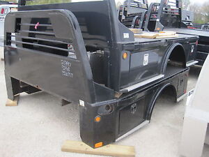Used Cm Flatbed Body Sk2 Skirted Dually Dodge Truck Bed 121790