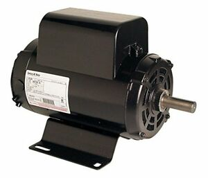 New Century B384 Air Compressor Motor 5hp 3450 Rpm 208 230v