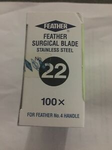 Feather Surgical Blade No 22