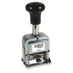 Xstamper Self inking Auto Numbering Machine 40240