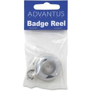 Advantus Translucent Retractable Id Card Reels 75473