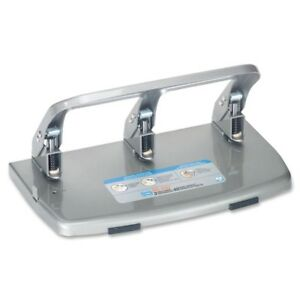 Carl Heavy duty 3 hole Punch W tray 63040