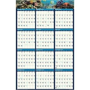 House Of Doolittle Earthscapes Sea Life Laminated Planner 3969