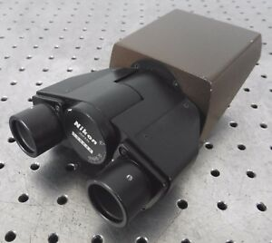 C132971 Nikon Binocular Microscope Head 48 7mm Dovetail