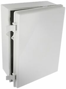 Bud Nema Box Plastic Solid Door Lockable Electrical Enclosure 15 7x11 7x 6 3