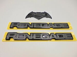 2016 Jeep Renegade Special Edition Justice Emblems Right Left Tailgate Mopar