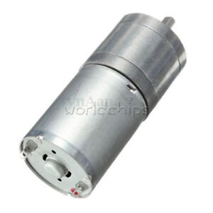 12v Dc 60rpm Powerful Torque Micro Speed Reduction Gear Box Motor Electric