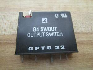 Opto 22 G4 Swout Digital Output Switch G4swout