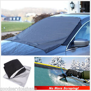 Car Suv Front Window Foldable Snow Ice Frost Sun Shade Protector Cover Block New