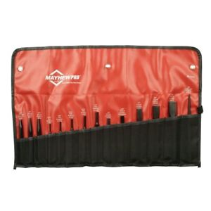 Mayhew Tools 61044 14 Pc Punch And Chisel Set