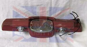 Triumph Spitfire Gt6 Plate Plinth With Lights And Wiring