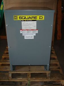 Square D Dry Type 25kva Transformer 25s3hnv Hv240 X 480 Lv120 240 600 Volt New