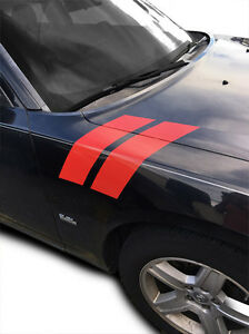 Fender Racing Hash Stripes Decal For 2006 2007 2008 2009 2010 Dodge Charger