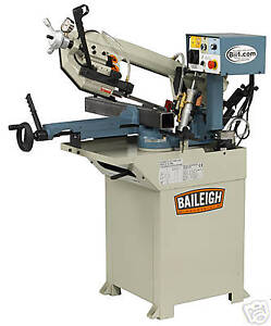 New Baileigh Bs 210m Single Miter Horizontal Band Saw Free Shipping