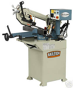 New Baileigh Bs 210m Single Miter Horizontal Band Saw