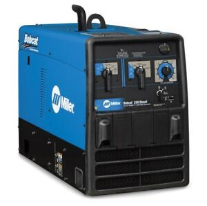 Miller Bobcat 250 Diesel Engine driven Welder Generator 907565
