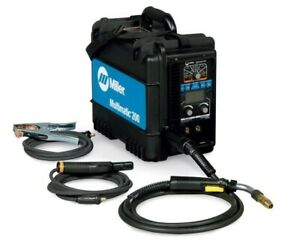 Miller Multimatic 200 Mig stick tig Welder 907518 free Bonus 2pks Of Tips