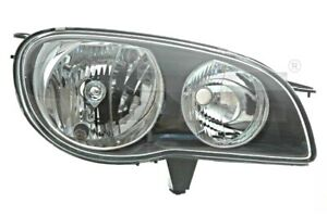 Headlight Front Lamp Fits Left Toyota Corolla Hatchback Sedan Wagon 1999 2002