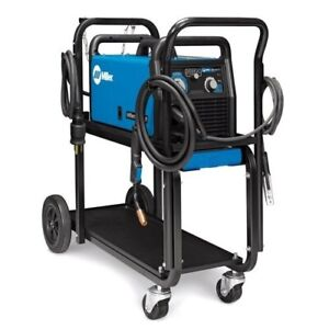 Millermatic 211 Mig Welder With Advanced Auto set Cart 951603