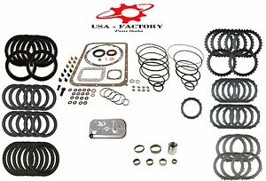 Deluxe Transmission Rebuild Kit For Allison At540 542 545 With Shallow Pan