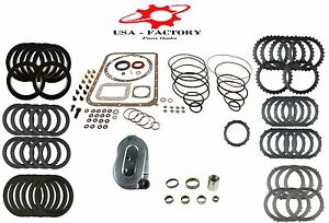 Deluxe Transmission Rebuild Kit For Allison At540 542 545 With Deep Pan