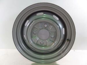 Vw Porsche 15 Mangels Steel Wheel D 5 5j 1115 Oem 356 Beetle Ghia Type 3