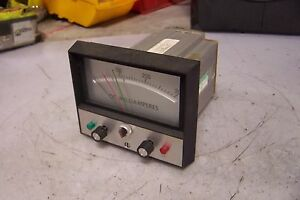 Jewell Dc Milliamperes Panel Meter Range 0 300 Amps Model 368032 002