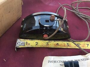 Nos Back Up Tag Light 28 29 30 31 1932 33 34 Ford Dodge Model A T Flathead Truck