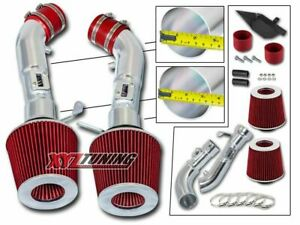 3 5 Red Heat Shield Cold Air Intake Filter For 09 16 370z 08 13 G37 3 7l V6