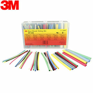3m Fp 301 133pcs 6 Heat Shrink Tubing Kit From Usa