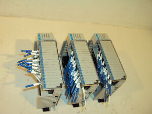 Lot Of 3 Allen Bradley 1769 iq16 Compact I o 16 Point Input Module