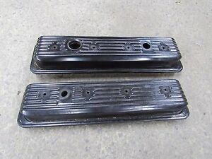 Gm Camaro Trans Am Corvette Lt1 Oem Valve Covers Good Used