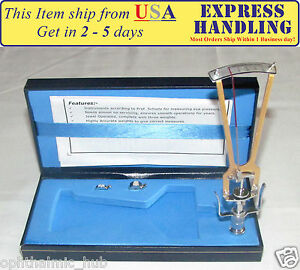 Riester Schiotz Tonometer For Optometry With Case User Manual Ship From Usa