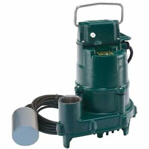 Zoeller Bn151 0005 1 3 Hp High Head Dose mate Cast Iron Effluent Pump W 20