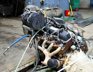 Military Surplus Hmmwv 6 5l Naturally Aspirated Gm Diesel Engine Good Used Cond