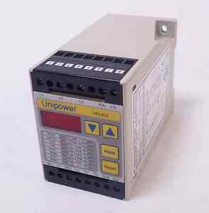 Unipower Hpl420 Digital Power Monitor For Ac Motors 4 20ma Out 400 Ohm Max Load