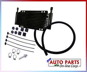 Universal Transmission Cooler Kit Chevy Acura Ford Dodge Jeep Honda Mazda Kia