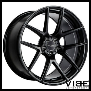 19 Ace Aff02 Flow Form Black Concave Wheels Rims Fits Jaguar Xkr
