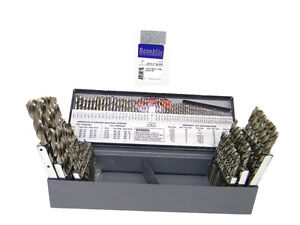 New Republic Usa 115pc Hs Bright 3 In 1 Jobber Drill Bit Set W Huot Index 307xb