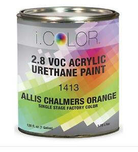 Allis Chalmers Orange Gallon Kit Single Stage Acrylic Urethane Auto Paint Kit