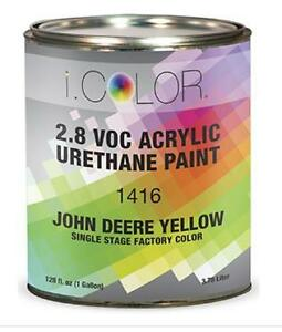 John Deere Yellow Gallon Kit Single Stage Acrylic Urethane Auto Paint Kit