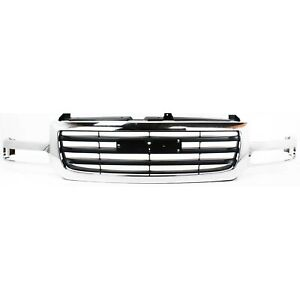 New Grille Assembly Grill For Gmc Sierra 1500 2500 Gm1200475 2003 2006