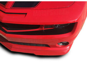Front Bumper Fascia Blackout Vinyl Decal For 2010 2011 2012 2013 Chevy Camaro