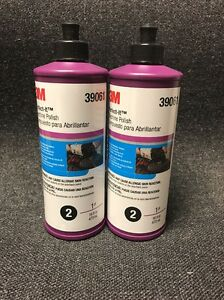 3m Perfect it 39061 Machine Polish 16oz W free Shipping 2 Bottles