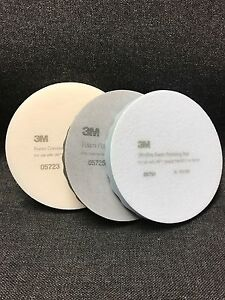 3m Perfect it Foam Buffing Pads 3m 05723 05725 05751 1 Pad Each 3 Pads Total