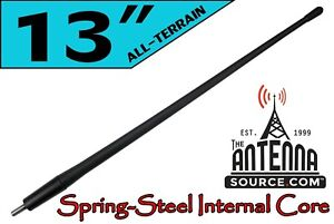 All Terrain 13 Rubber Antenna Mast Fits 2000 2019 Toyota Tundra